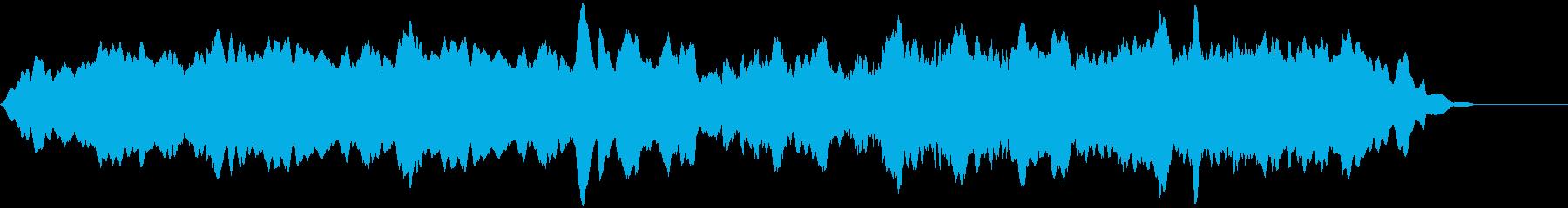 ゆっくりしたうなり声で安定したサブ...の再生済みの波形