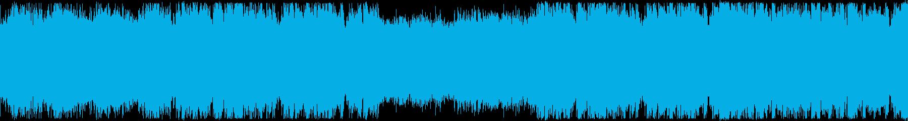 ループ・おしゃれなフューチャーベースの再生済みの波形