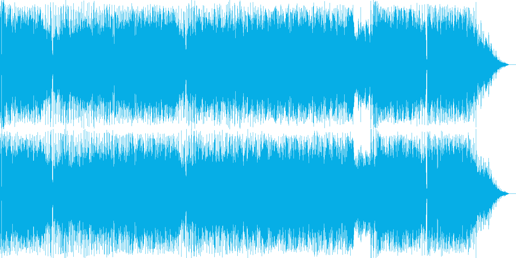 サックスの音が印象的なポップ演歌歌謡の再生済みの波形