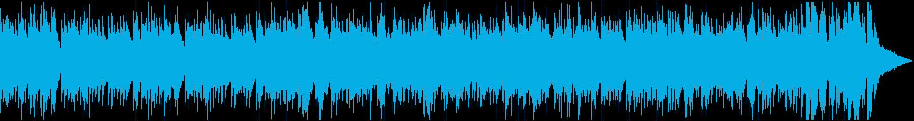 ピアノとギターデュオのおしゃれなボサノバの再生済みの波形