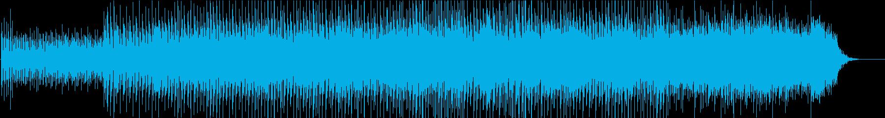 未来的な雰囲気の明るく高揚する電子...の再生済みの波形