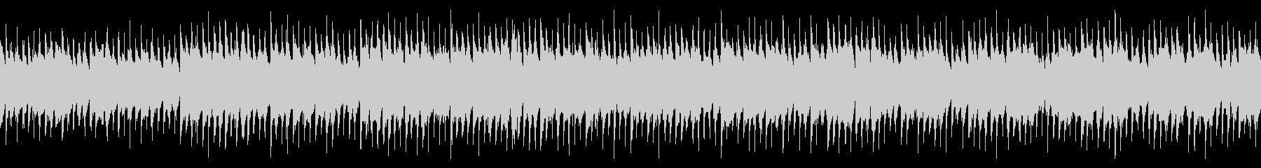 【ループ】アップテンポなアコースティックの未再生の波形