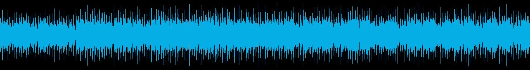 【ループ】アップテンポなアコースティックの再生済みの波形