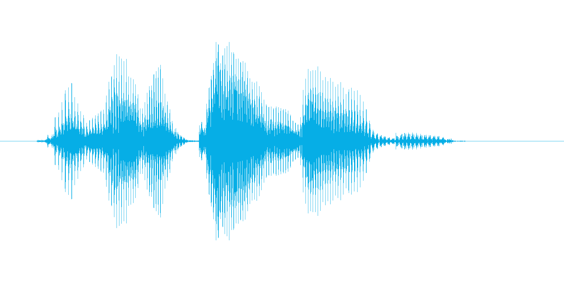 アメリカンリーグの再生済みの波形