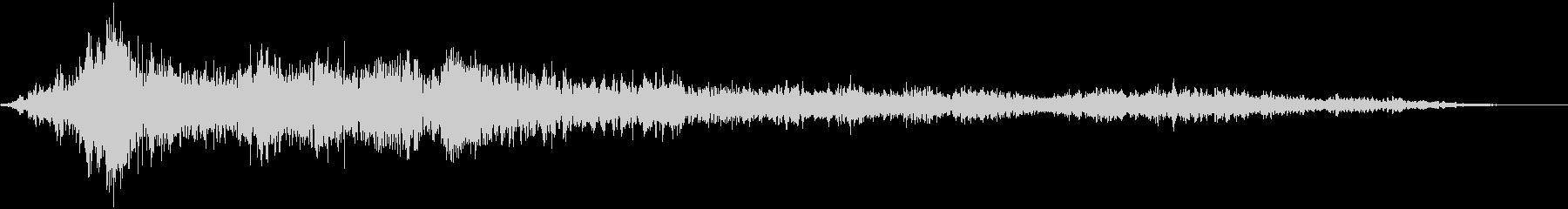 【ホラー】ダークアンビエント_03 の未再生の波形