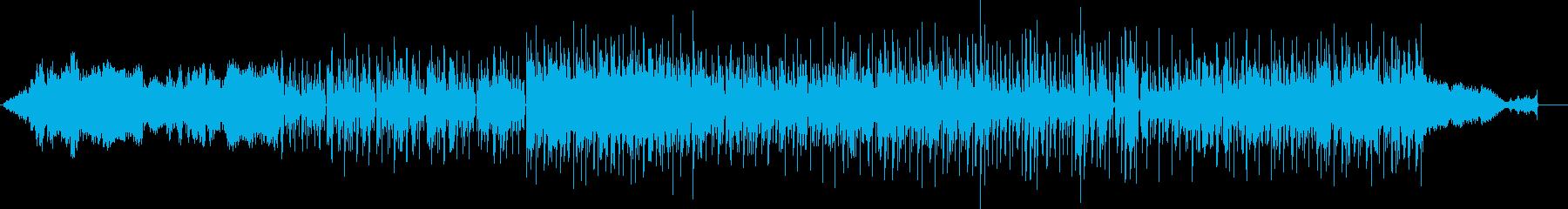 催眠をテーマにしたアンビエント電子...の再生済みの波形