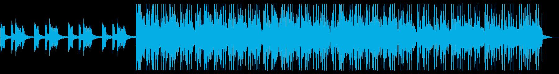 都会/爽やか/R&B_No466_3の再生済みの波形
