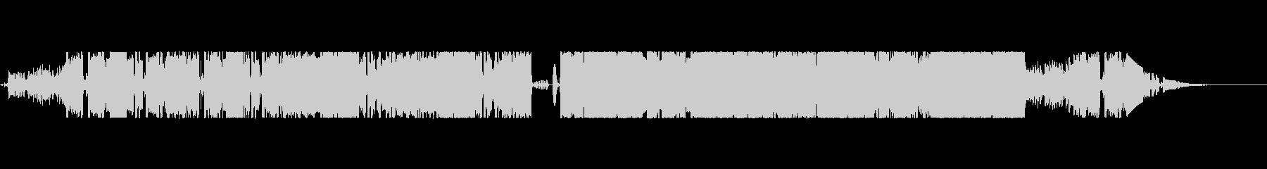 緊迫感とエキゾチックHIPHOPの未再生の波形