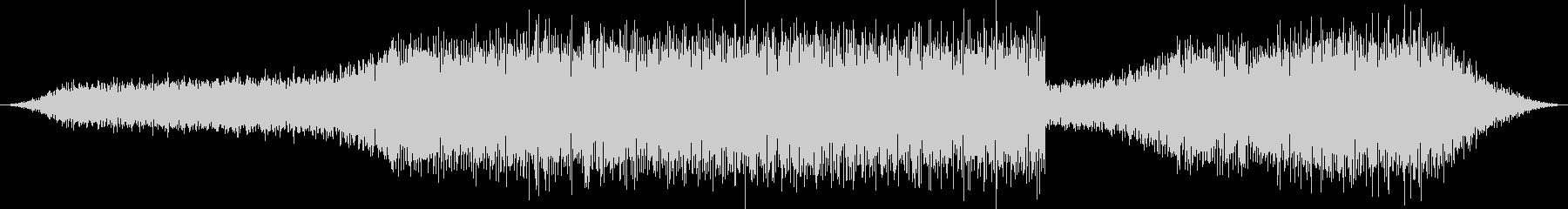 実験、検証映像のBGMにの未再生の波形