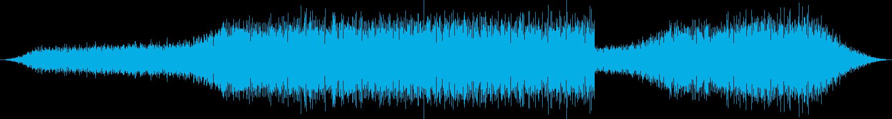 実験、検証映像のBGMにの再生済みの波形