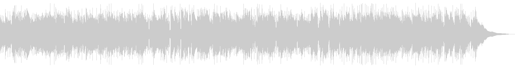 交響曲第40番 アシッドジャズの未再生の波形