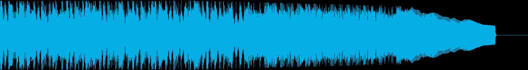 カントリー風ギターイントロ−05Bの再生済みの波形