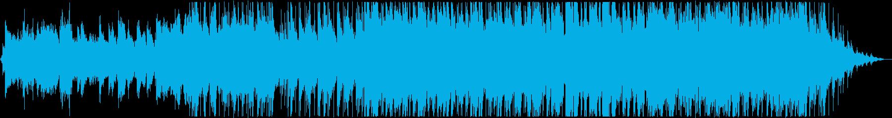80年代風の切ない雰囲気のJpopの再生済みの波形