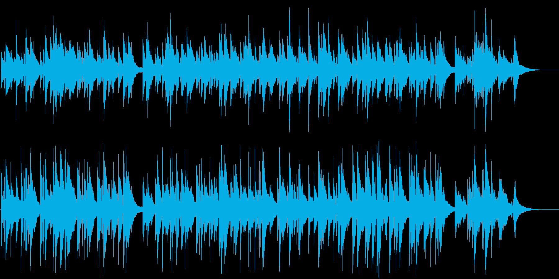 昭和時代を思い出す懐かしいブルースソングの再生済みの波形