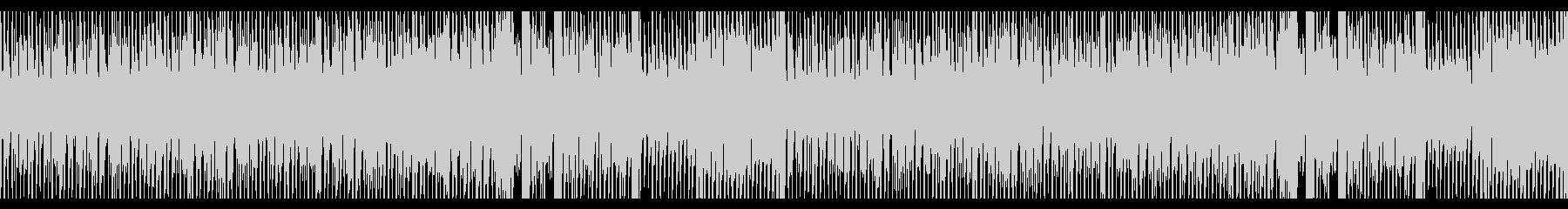 明るく爽やかなスウィング系エレクトロの未再生の波形