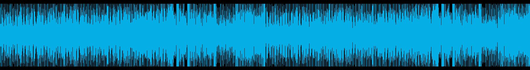 明るく爽やかなスウィング系エレクトロの再生済みの波形