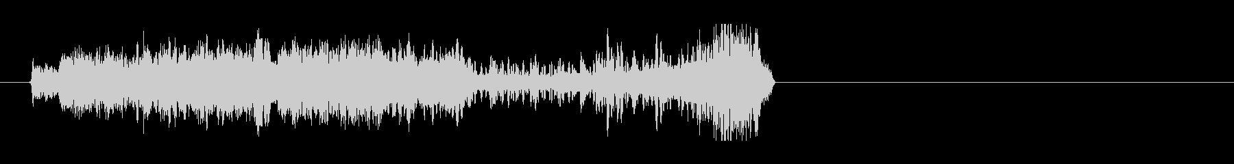 ハイクオリティなFMラジオジングルの未再生の波形