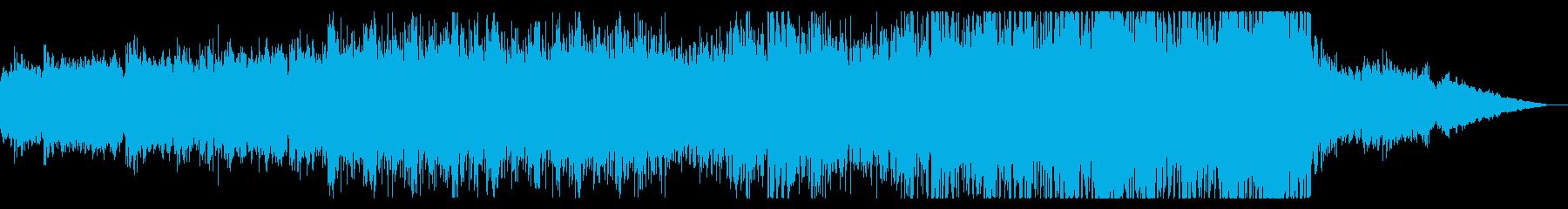 しっとりと落ち着いた雰囲気のEDMの再生済みの波形