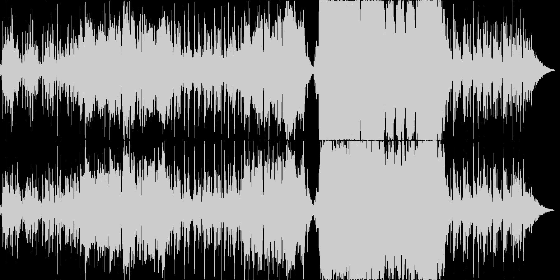 【和風】癒やし・泣ける切ないバラード曲の未再生の波形
