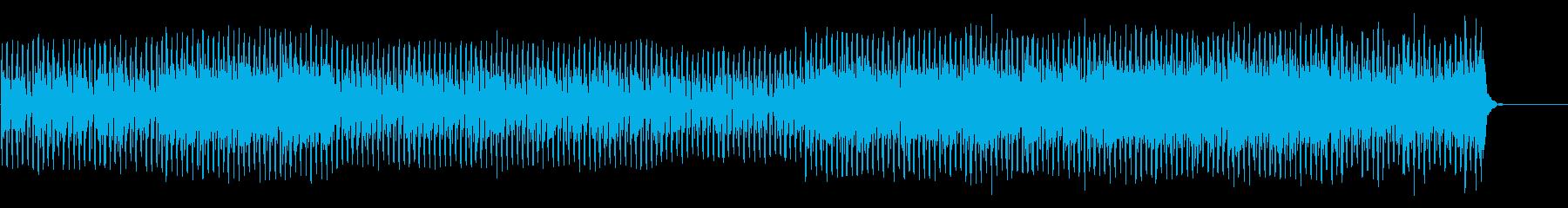 疾走感のあるクールなテクノポップの再生済みの波形