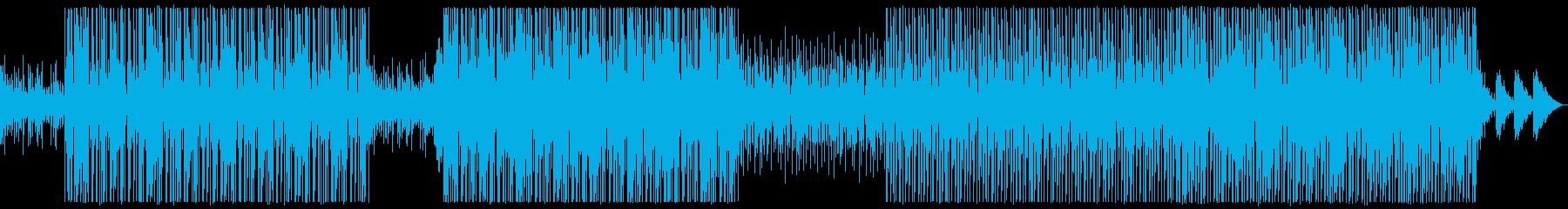 Lo-Fiビート_チル_R&B_Cityの再生済みの波形
