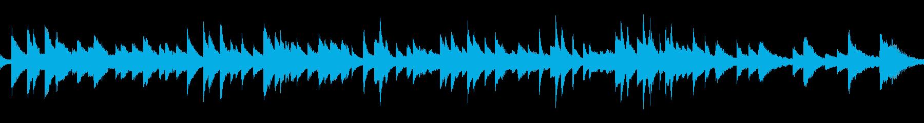 ループ 生ピアノ ソロ  切ないバラードの再生済みの波形
