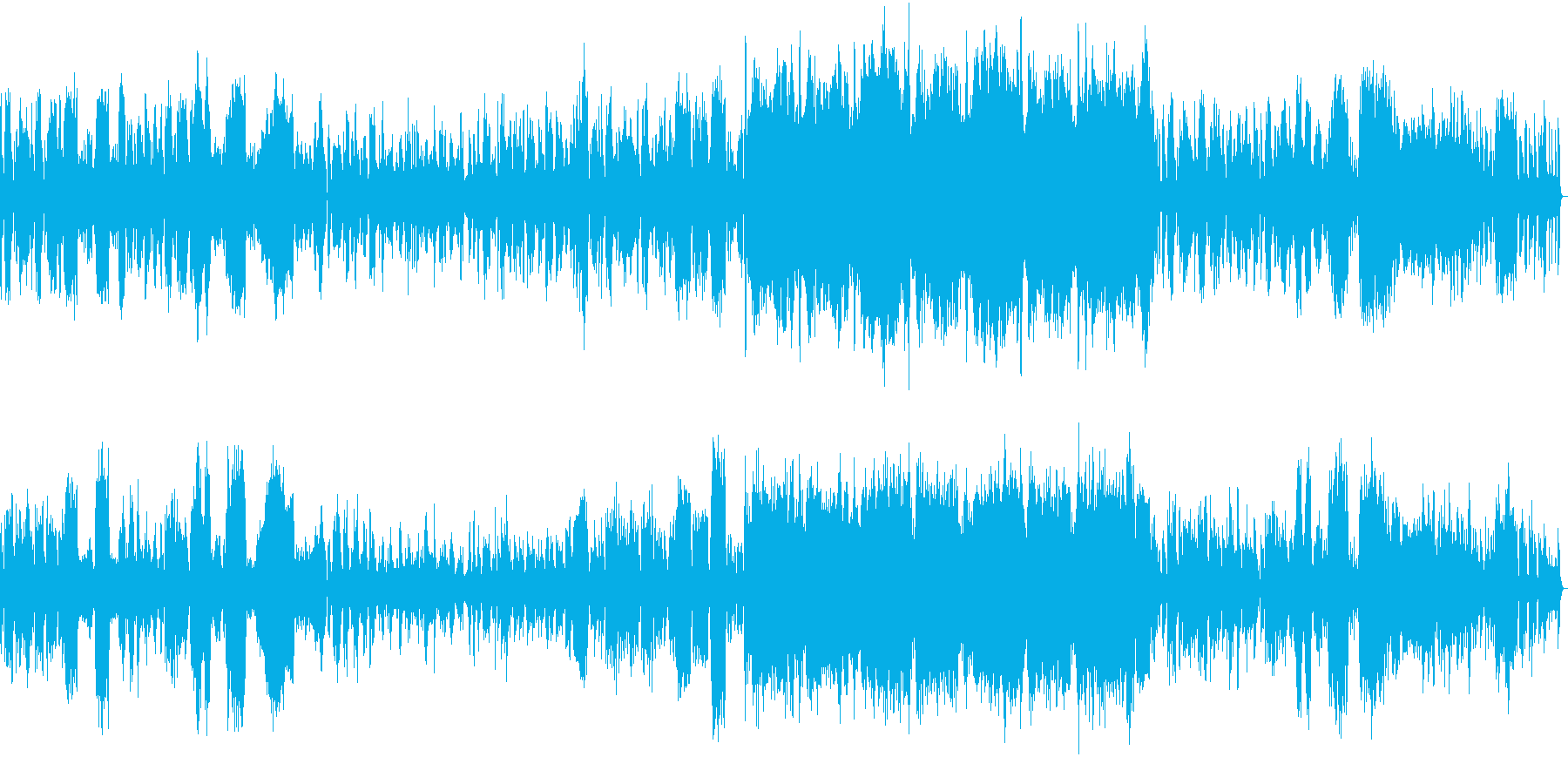 ゆったりとしたロマンチックなピアノ協奏曲の再生済みの波形