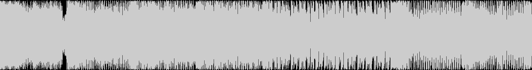 可愛いハイテンポテクノポップ ループ推奨の未再生の波形