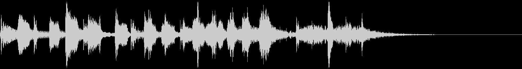 陽気なラテントランペットほのぼのジングルの未再生の波形
