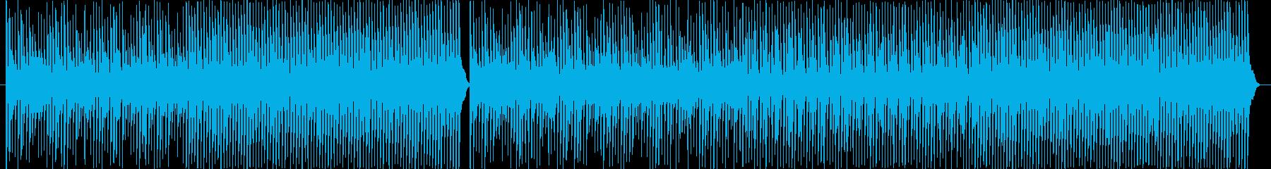 カワイイ、コミカルの再生済みの波形