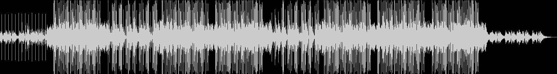 ダブステップでチャームのある曲の未再生の波形