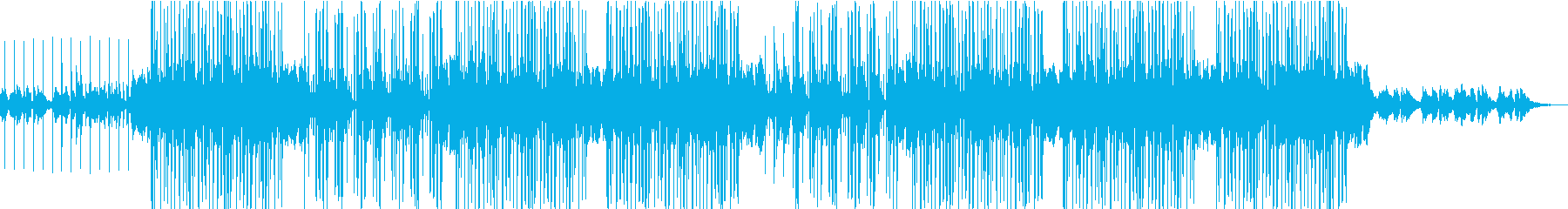 ダブステップでチャームのある曲の再生済みの波形
