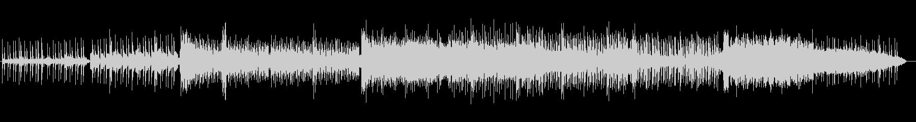 アシッドな雰囲気のシネマティックBGMの未再生の波形