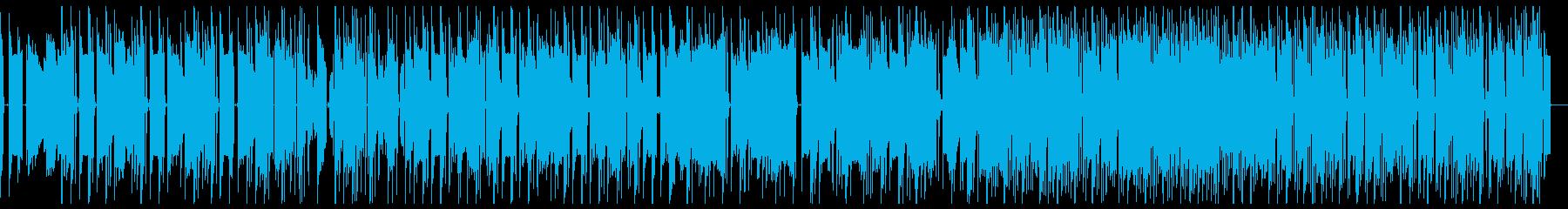 流行りの作業用ミュージック系の再生済みの波形