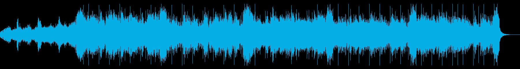 ダークなテクスチャアトモスの再生済みの波形
