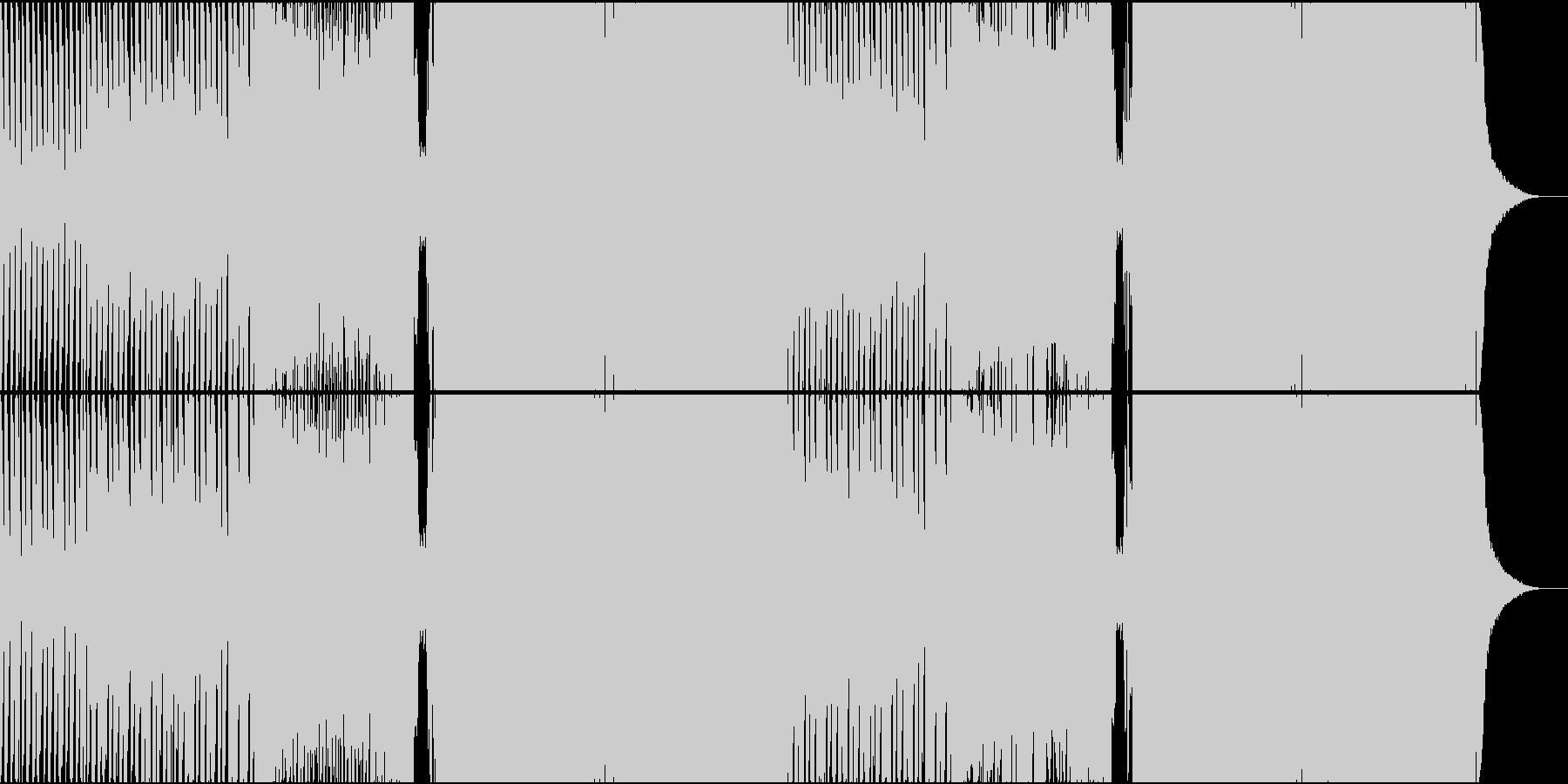【女性ボーカル】かわいいトロピカルハウスの未再生の波形