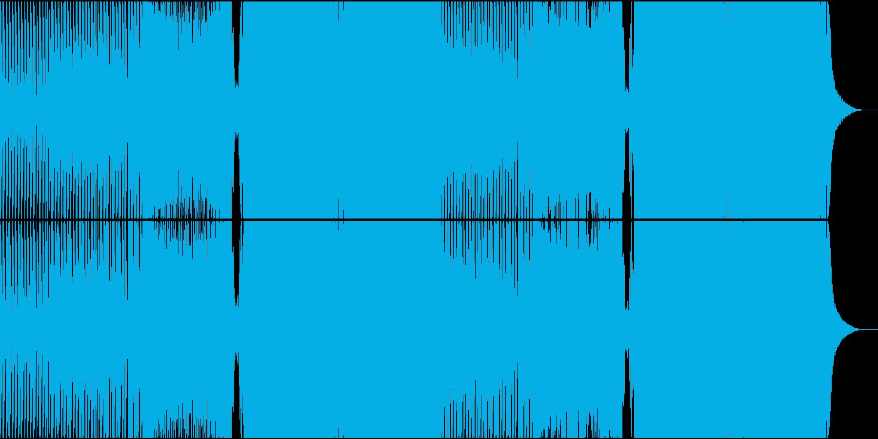 【女性ボーカル】かわいいトロピカルハウスの再生済みの波形