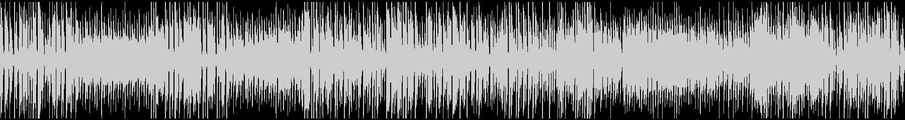 ハッピー遊園地系ジプシージャズ※ループ版の未再生の波形