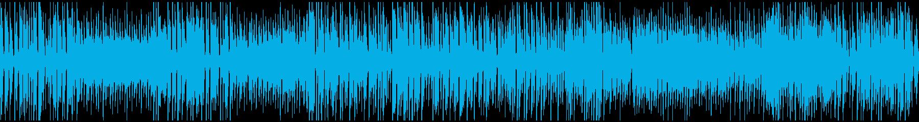 ハッピー遊園地系ジプシージャズ※ループ版の再生済みの波形