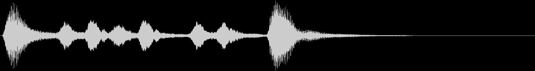 サウンドロゴ、ジングル等の未再生の波形