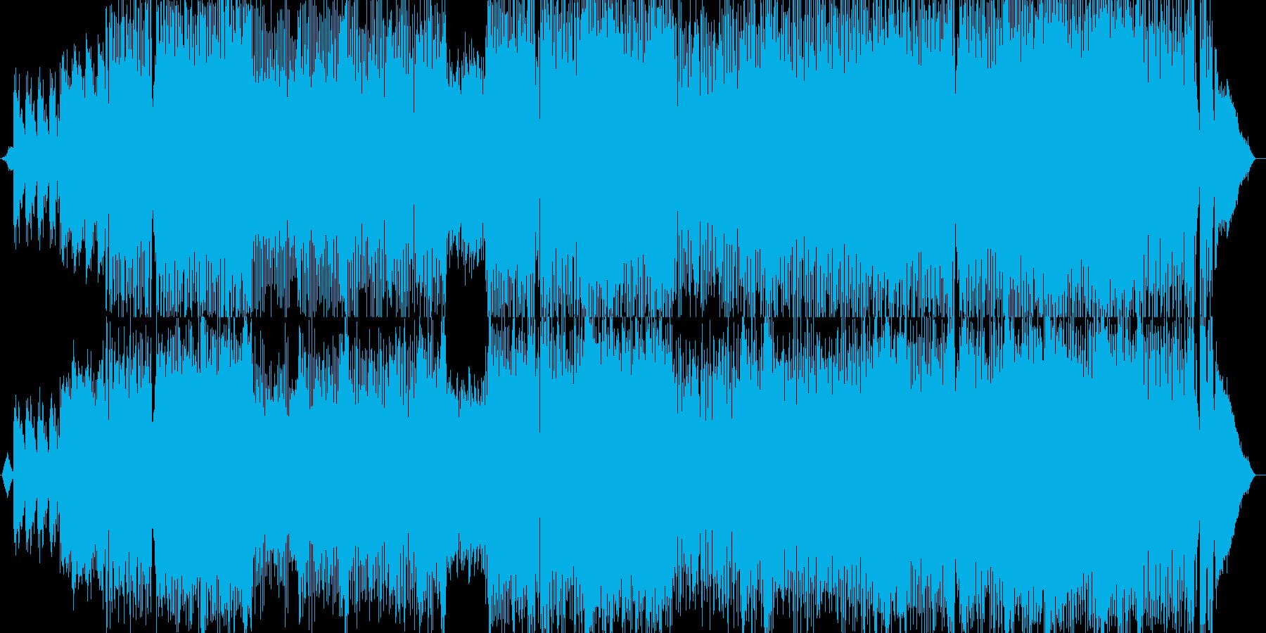 情緒的なイントロからのエモハードロック!の再生済みの波形