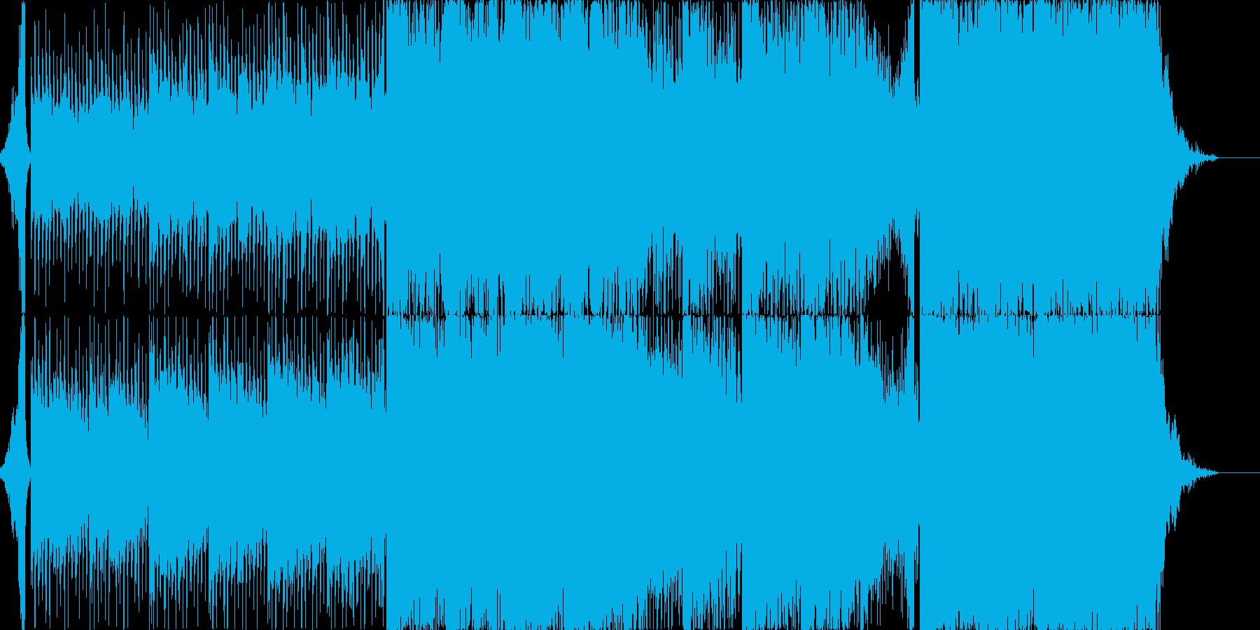 疾走感のあるミニマルトランスです。の再生済みの波形