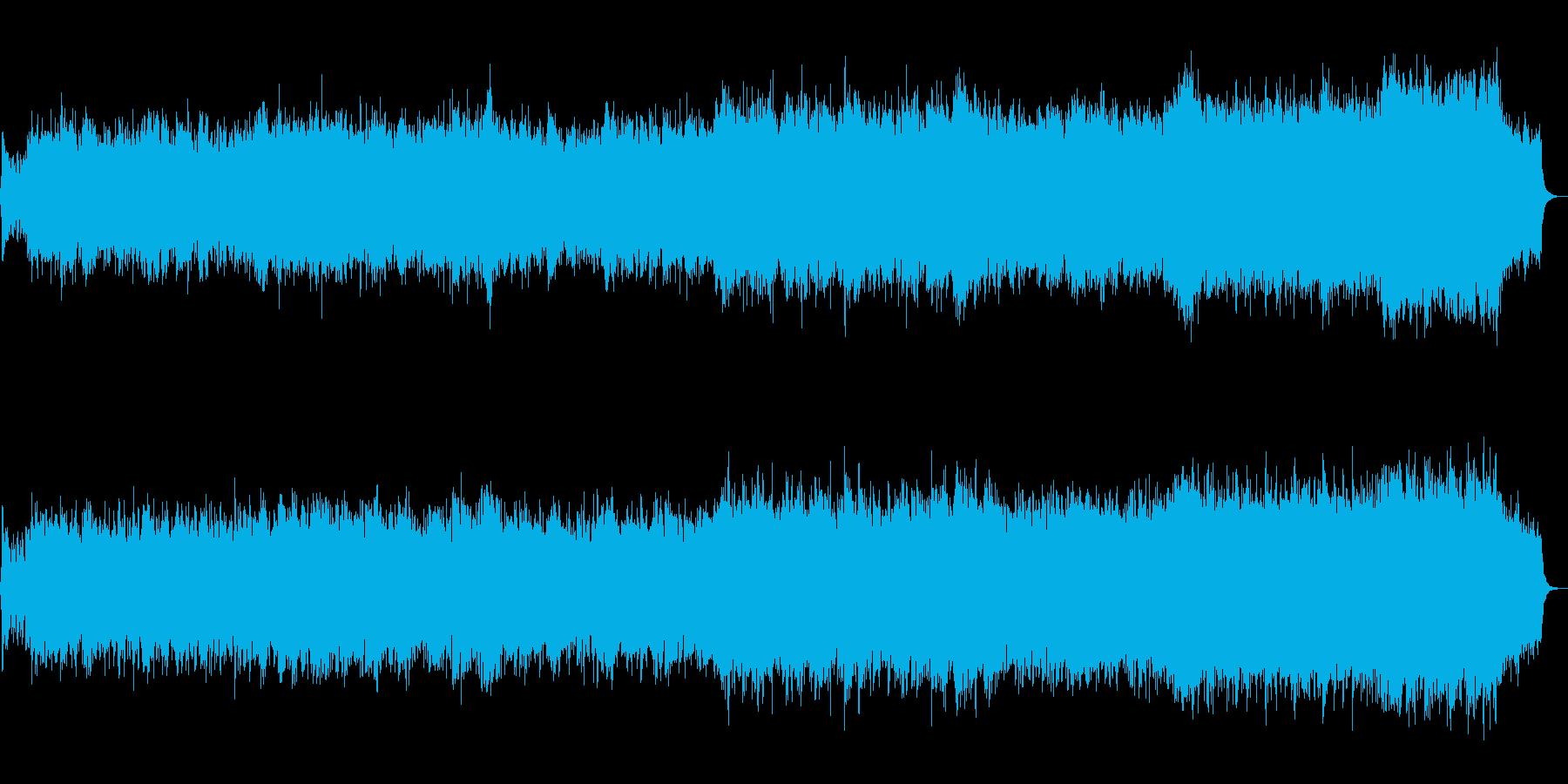 生トランペット収録!希望的なオーケストラの再生済みの波形
