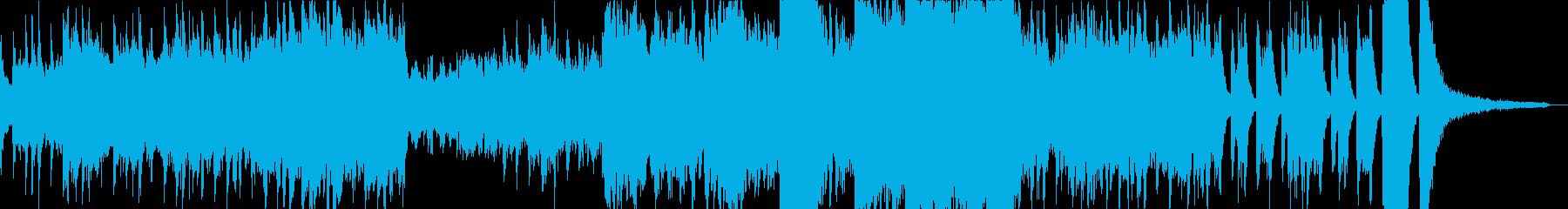 華やかにオープニングを飾るオーケストラBの再生済みの波形