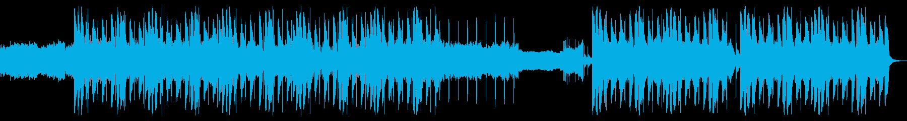 ノスタルジックな昔を思い出すヒップホップの再生済みの波形