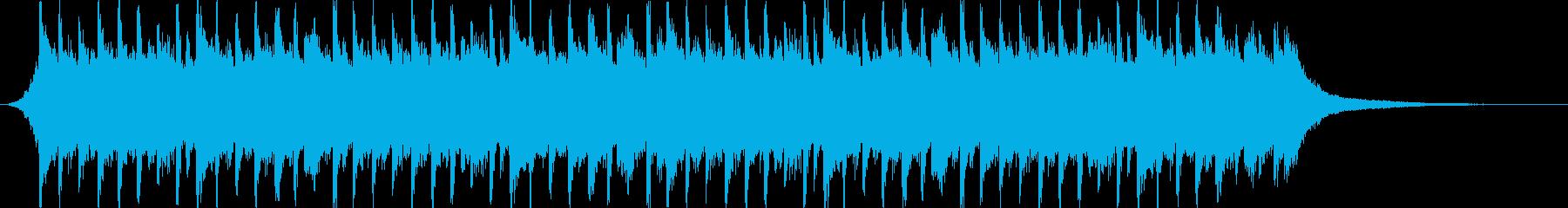 企業VP系113、爽やかギター4つ打ちcの再生済みの波形