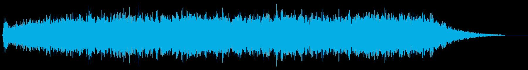 トランジション パッドスイープヒス02の再生済みの波形