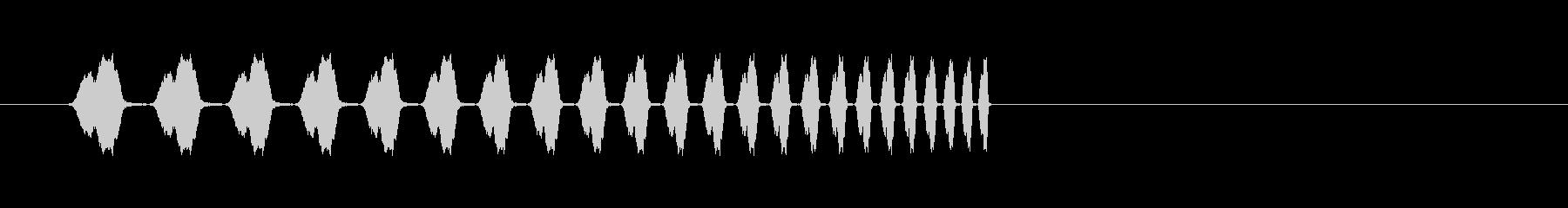 ホイッスルコメディラン5-加速-バ...の未再生の波形