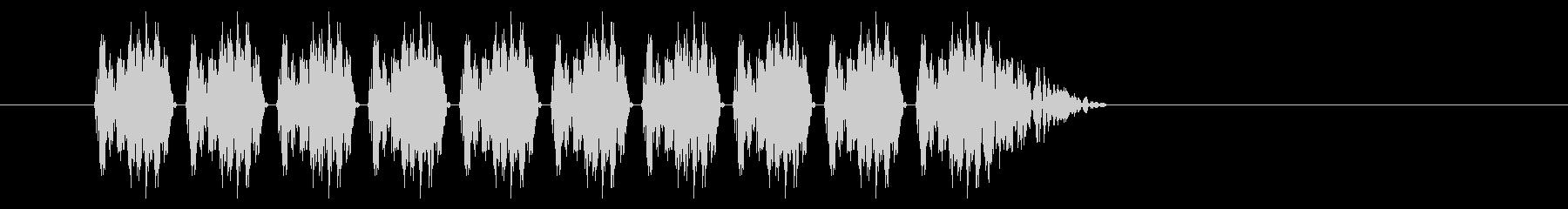 SNES シューティング01-02(発射の未再生の波形