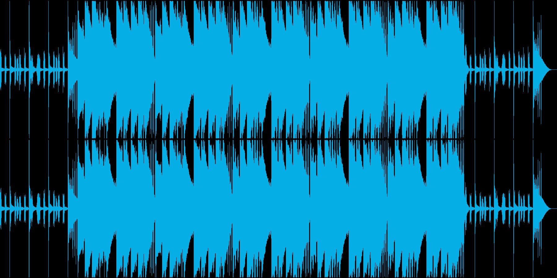 EDM Musicの再生済みの波形